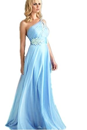 LondonProm Tl21 beading Pink blue Evening Dresses party full length prom gown ball dress robe (