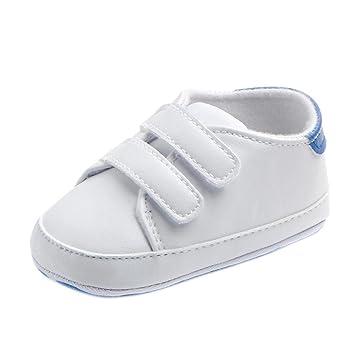 34a910b3 Zapatos Bebé Primeros Pasos ❤ Amlaiworld Infantil Bebé Niña Niño Zapatos de  Cuna de Suela Blanda Sneaker Zapatilla de Prewalker Recién Nacido Zapatilla  ...