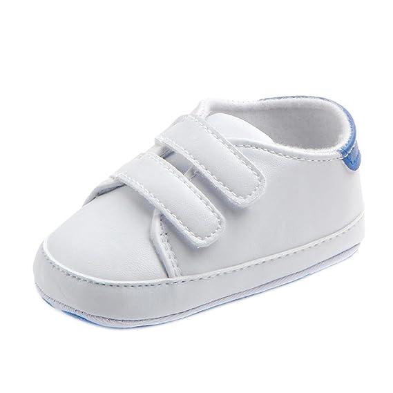 Zapatos Niños Niñas Zapatos Bebé Primeros Pasos Infantil Bebé Niña Niño Zapatos de Cuna de Suela Blanda Sneaker Zapatilla de Prewalker Recién Nacido ...