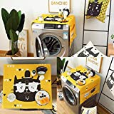 Lome123 Roller Washing Machine Cover Cartoon Animal Pattern Dust Proof Covers