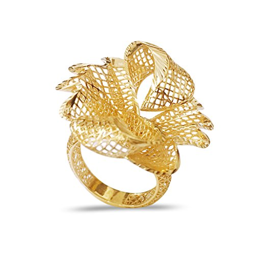 IskiUski 18KT Yellow Gold Ring for Women