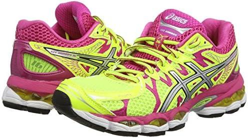 ASICS Gel-Nimbus 16 - Zapatillas de deporte para mujer, color amarillo (Flash Yellow / Silver / Hot Pink 793), talla 36 EU: Amazon.es: Zapatos y complementos