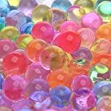 4,000 approx.RAINBOW Jelly BeadZ® 2 oz. Water Bead Gel - Heat Sealed for Freshness