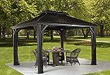 Sojag 500-8162974 Messina Sun Shelter, 12' x 12'
