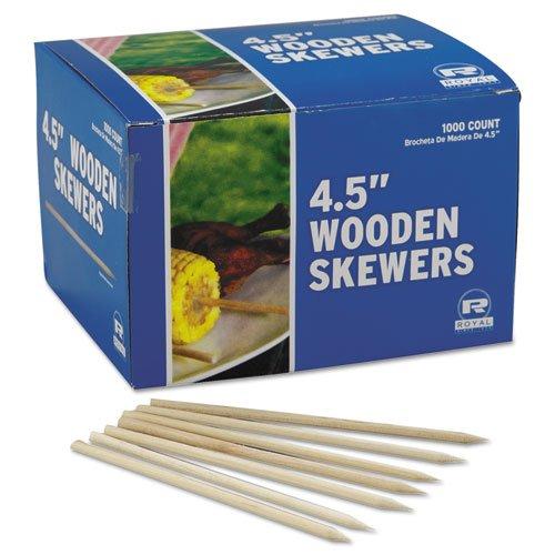 rppr815 – 木製Skewers、4 – 1 / 2インチ、1 , 000 /ケース B00Z806YJS