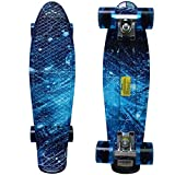 RIMABLE Complete 22 Inches Skateboard (Galaxy)