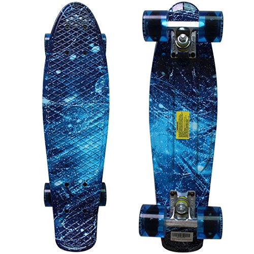 "RIMABLE Complete 22"" Skateboard (Galaxy)"