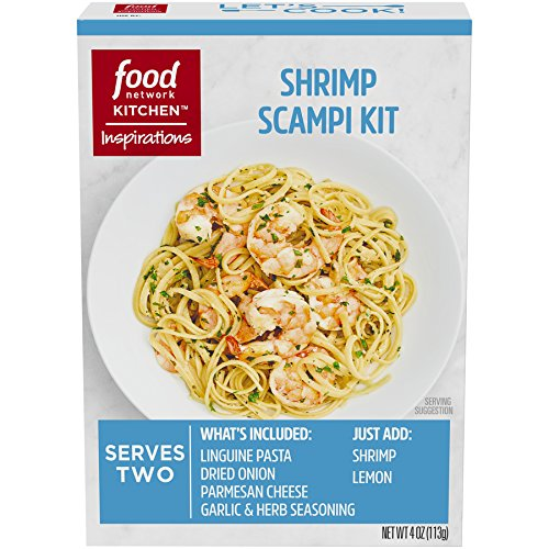 Food Network Kitchen Inspirations Shrimp Scampi Meal Kit, 4 oz - Garlic Shrimp Scampi
