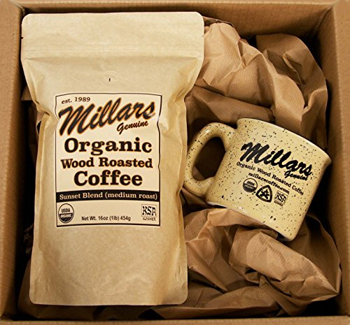 Millars Wood Roasted Coffee Gift Basket Box the Overnighter