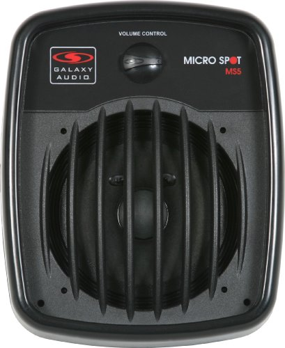 Galaxy Audio MS5 Micro Spot 5 Passive Personal Monitor Speaker ()