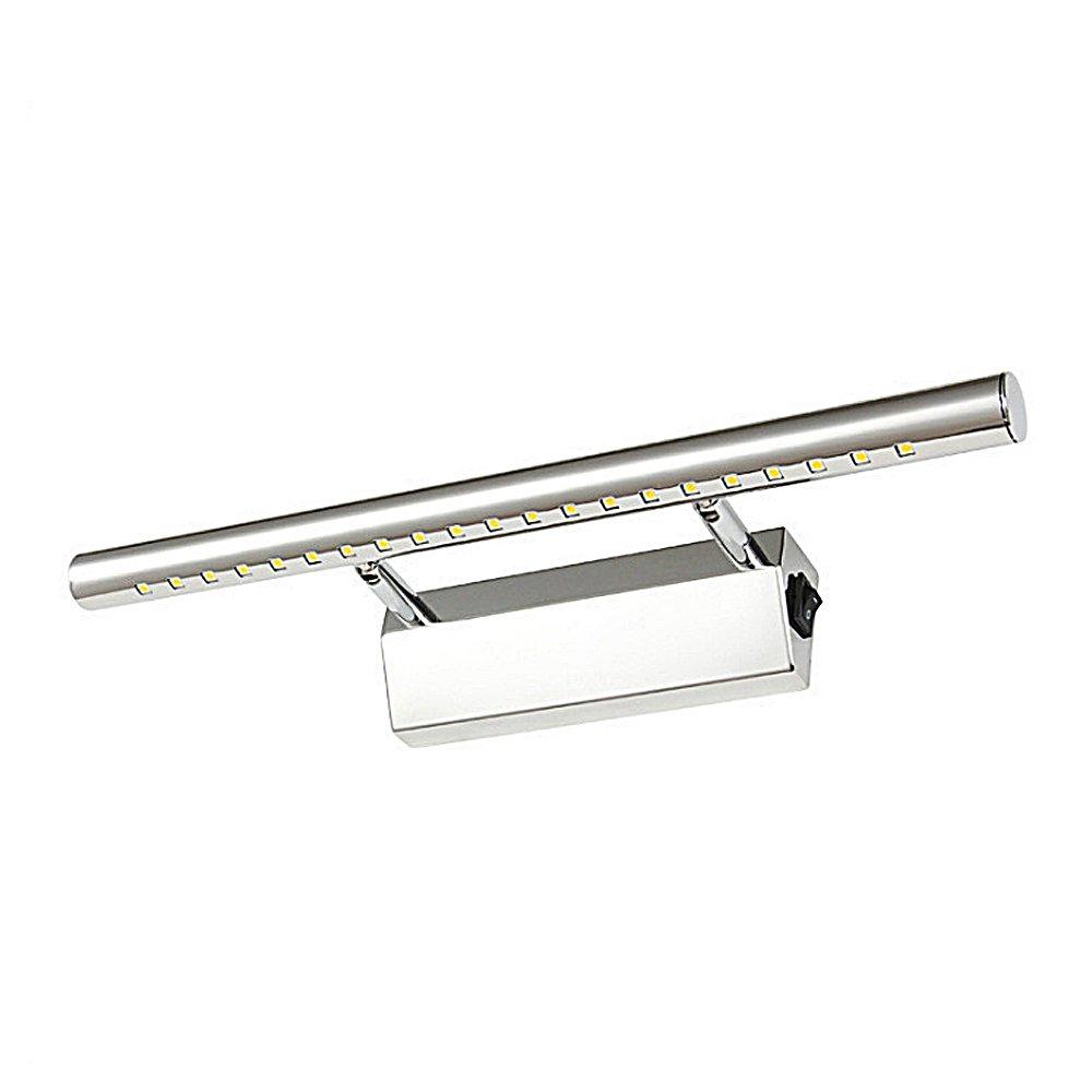 Applique Da Parete a Specchio Modern 5W High Lumens Applique Da Parete a LED Con Specchietto Retrovisore Con Angolo Regolabile Specchio Per Make-Up Luci Anteriori Per Bagn