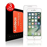[3-Pack]iPhone 7 Screen Protector,Auideas Apple iPhone 7 Tempered Glass Screen Protector for Apple iPhone 7