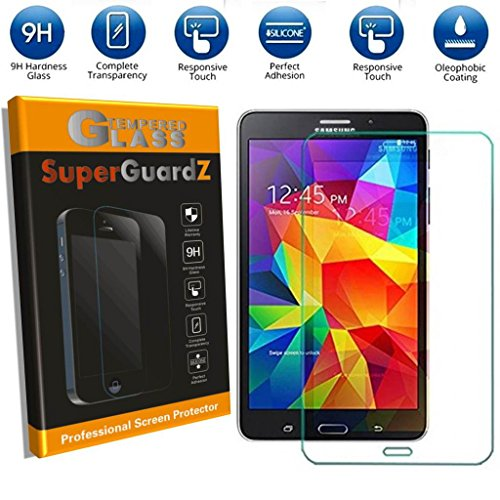 [2-PACK] For Samsung Galaxy Tab E 8.0 - SuperGuardZ Tempered Glass Screen Protector, 9H, 0.3mm, 2.5D Round Edge, Anti-Scratch, Anti-Bubble