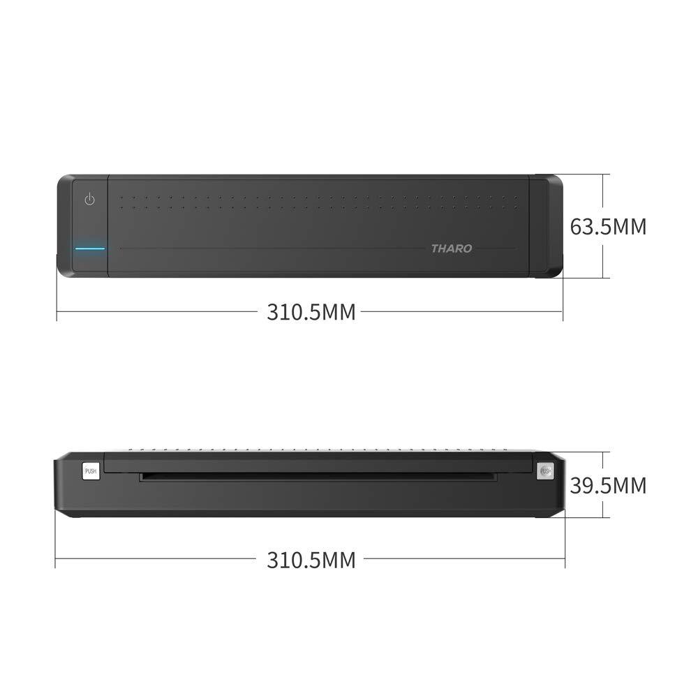Amazon.com: THARO AP800 Impresora portátil A4 de 8.268 in ...
