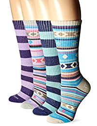 Wool IQ Women's Merino Wool Trail Crew Sock 4-pack