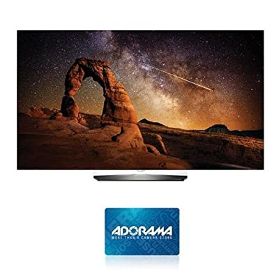 "LG Electronics 55"" Class 4K UHD Smart OLED TV with webOS 3.0 - With $150 Adorama Gift Card"
