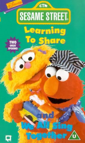 Sesame Street: Learning To Share/We All Sing Together [VHS