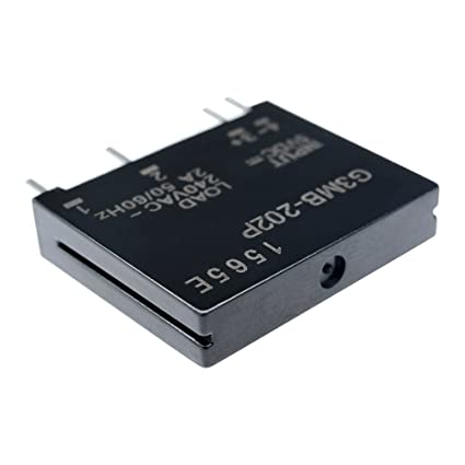 G3MB-202P-5VDC DC-AC PCB SSR In 5V DC Out 240V AC 2A Solid State Relay HV