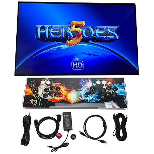DODOING 2000 in 1 Heroes Box 5 Arcade Fight Video Classic Games Console Gamepad HDMI VGA by DODOING