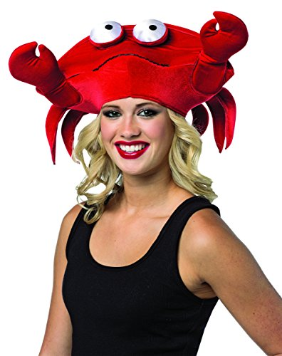 [Rasta Imposta Women's Crab Hat, Red, One Size] (Crab Costumes)