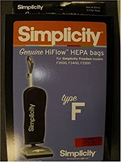 amazon com simplicity vacuum bags ss 6 type s sport 6 bags rh amazon com
