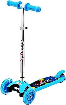 Amazon.com: Liyu 1281 °F 3 ruedas niños Mini Kick Scooter ...