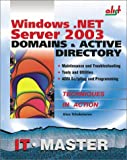 Windows . NET Server 2003 Domains and Active Directory, Aleksey Tchekmarev, 1931769001