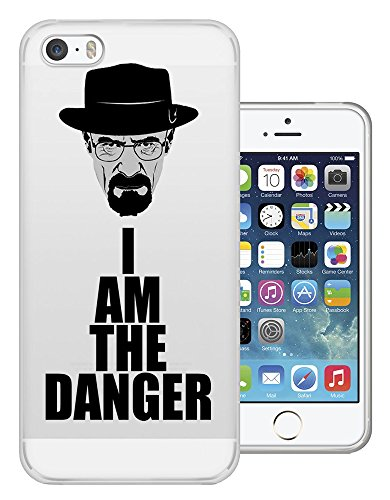 C0446 - Cool Fun Trendy Funny I Am The Danger Breaking Bad Design iphone 5C Fashion Trend Protecteur Coque Gel Rubber Silicone protection Case Coque