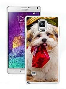 Diy Christmas Dog White Samsung Galaxy Note 4 Case 11