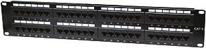 Intellinet 48-Port 2U Cat6 Patch Panel (560283)
