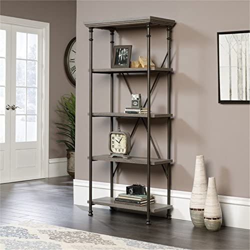 Pemberly Row 5 Shelf Bookcase