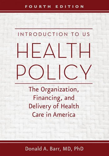 Introduction To U.S.Health Policy