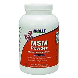 NOW MSM Pure Powder, 1-Pound