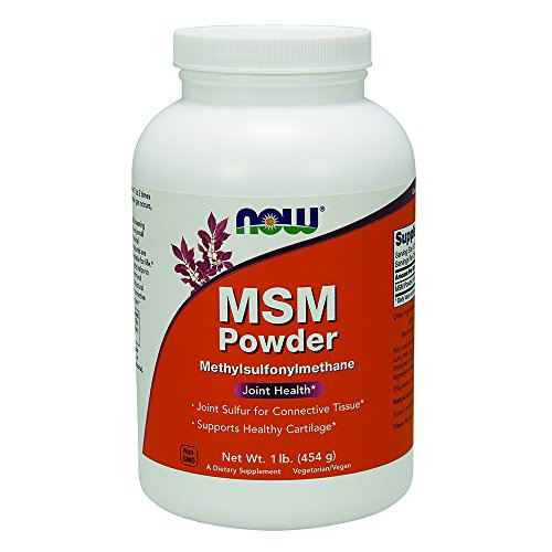 NOW MSM Pure Powder, 1-Pound