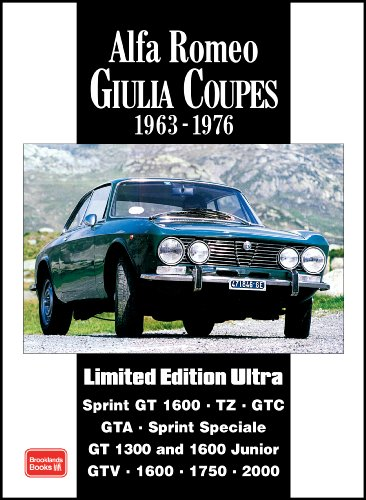 - Alfa Romeo Giulia Coupes 1963-1976 (Limited Edition Ultra)