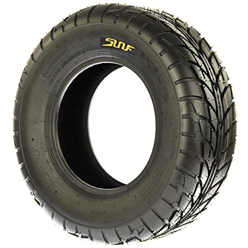 Pair of 2 SunF A021 TT Sport ATV UTV Dirt & Flat Track Tires 22x7-10, 6 PR, Tubeless by SunF (Image #3)