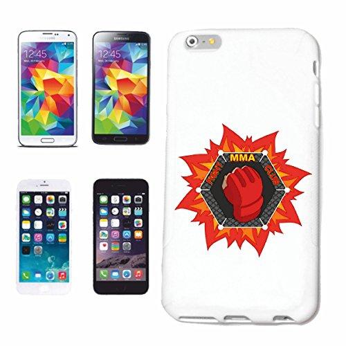 """cas de téléphone iPhone 6S """"MMA ARTS IMPORTANTS MIXTES FIGHT MMA MIXTES FIGHT MATÉRIEL ARTS Fightclub STREET BOXE KARATE KICK BOXING JUDO"""" Hard Case Cover Téléphone Covers Smart Cover pour Apple iPhon"""