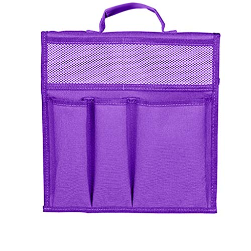 NszzJixo9 Foldable Garden Seat Tool Bag Outdoor Work Portable Storage Stool Pouch Attach Garden Kneeler Store Garden Tools Peice Garden Seat Tool Bag (purple)