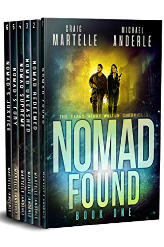 Terry Henry Walton Chronicles Boxed Set One: Nomad Found, Nomad Redeemed, Nomad Unleashed, Nomad Supreme, Nomad