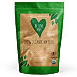Be Love Body - Organic Matcha Green Tea Powder For Teas, Lattes, Baking & Smoothies (Or Any WayThat Makes You Happy) - For A Healthy & Sustained Energy Release Throughout The Day, 100g Pouch