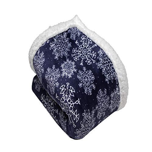 Vera Neumann Iclyn Ulta Plush Soft & Warm Sherpa Throw Blank