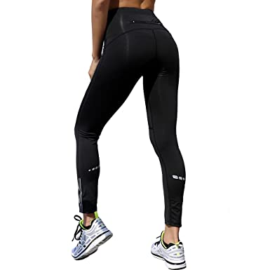 MVNTOO Women Yoga High Waist Sport Pants Compression Tights ...