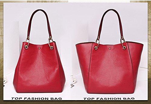 YAAGLE Bolso weekend, rojo (Rojo) - 525489945508-rouge Rojo