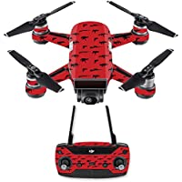 Skin for DJI Spark Mini Drone Combo - Guns| MightySkins Protective, Durable, and Unique Vinyl Decal wrap cover | Easy To Apply, Remove, and Change Styles | Made in the USA