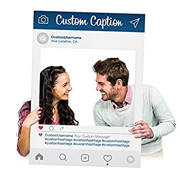 Amazoncom Fantastic Displays Custom Printed Instagram Selfie Frame