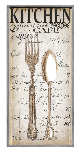 wood fork and spoon wall art - 9