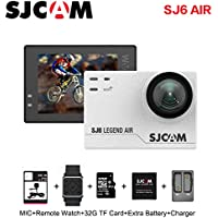 Sports Action Camera, 1080P Waterproof 166° Wide-Angle Action Camera with Mount of Accessories, White