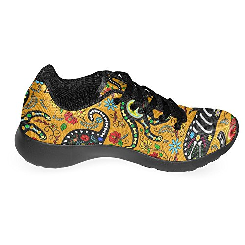 Interestprint Mujeres Jogging Running Sneaker Ligero Go Easy Walking Casual Comfort Deportes Zapatillas De Running Multi 10