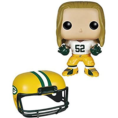 Funko POP NFL: Wave 1 - Clay Matthews Action Figures: Funko Pop! Sports:: Toys & Games