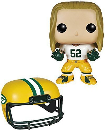 9a4b90ac6 Amazon.com  Funko POP NFL  Wave 1 - Clay Matthews Action Figures ...